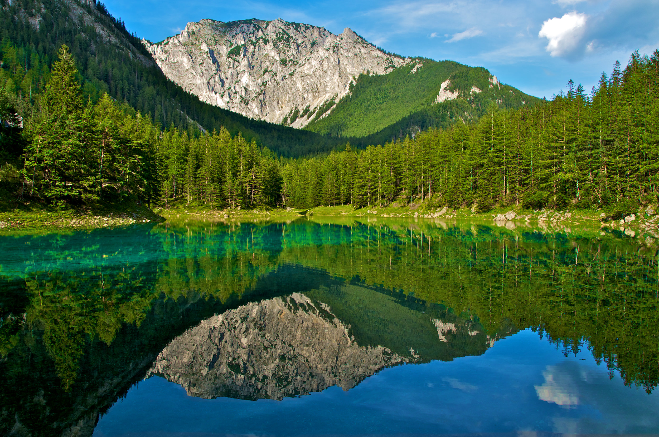 The Grüner See in Austria