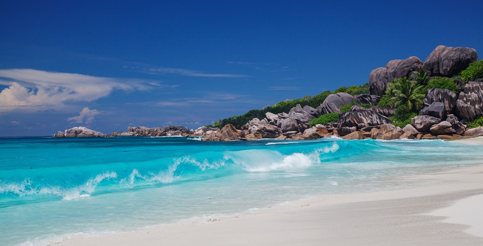 Indian Ocean Seychelles Beach