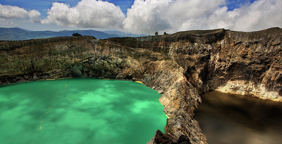Kelimutu Crater Lakes Indonesia