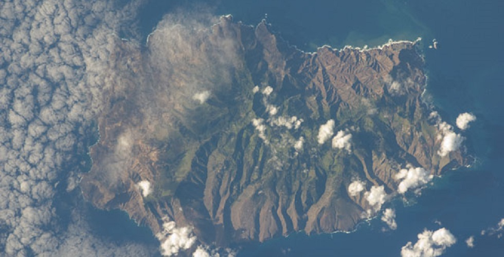 Aerial View of Saint Helena