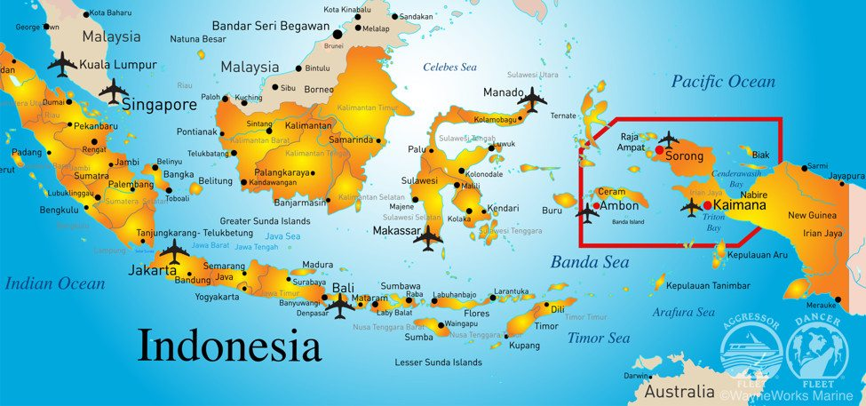 ambon banda islands sorong ambon sorong 10 nights kira