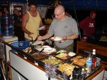 Delicious food aboard the Liveaboard MV Deep Andaman Queen