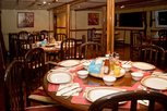 Dining room Liveaboard Cassiopeia