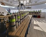 Diving deck Liveaboard Snefro Love