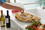 Delicious food aboard the Liveaboard Bahamas Aggressor