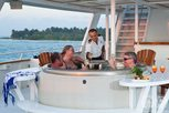 Hot tub Liveaboard Belize Aggressor III