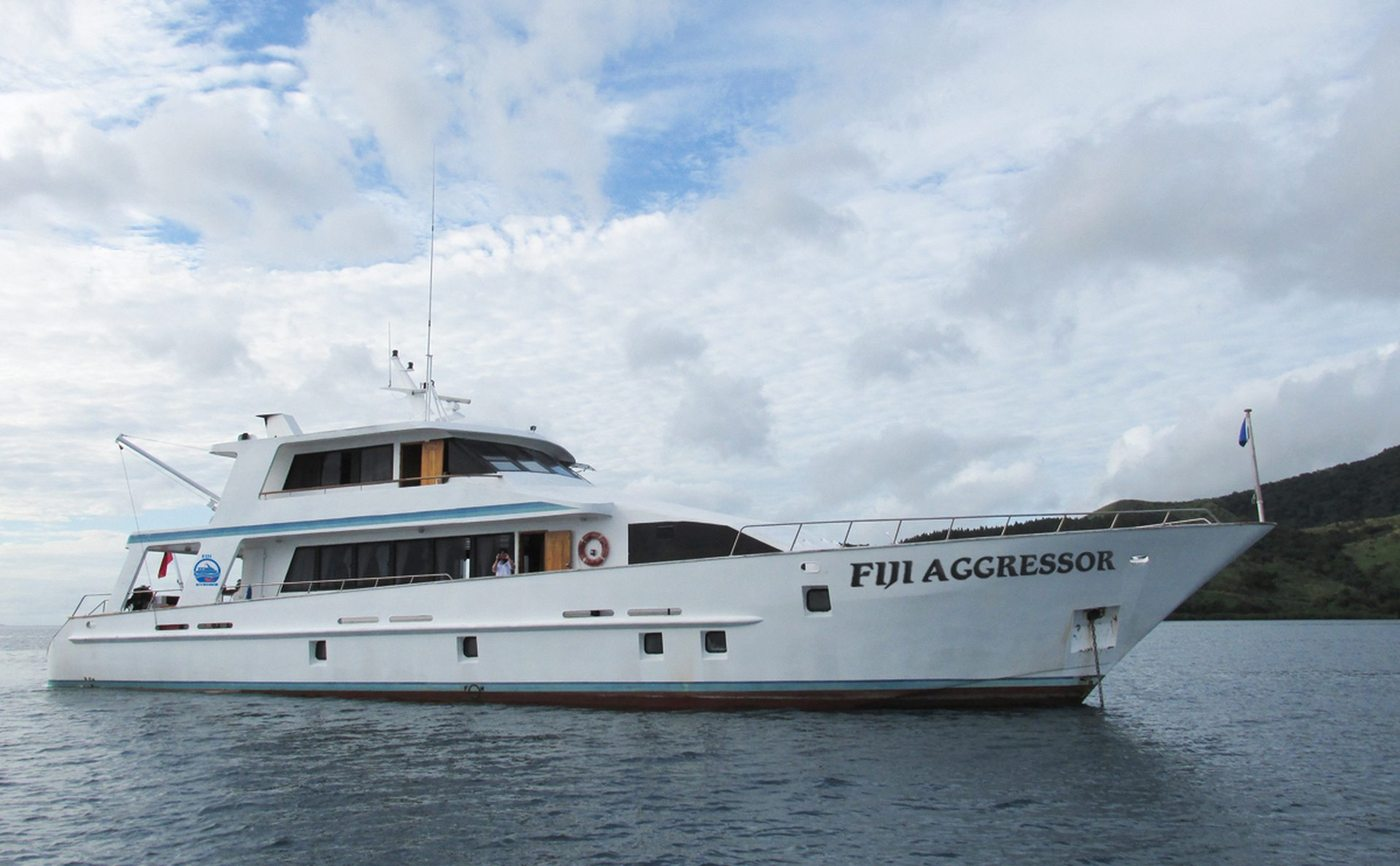 Liveaboards de Fiji Aggressor