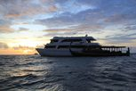Travel the blue waters of The Maldives on the Liveaboard MV Ari Queen